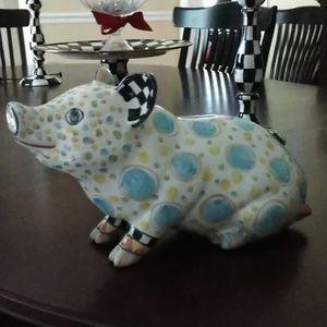 Mackenzie Child's piggy bank